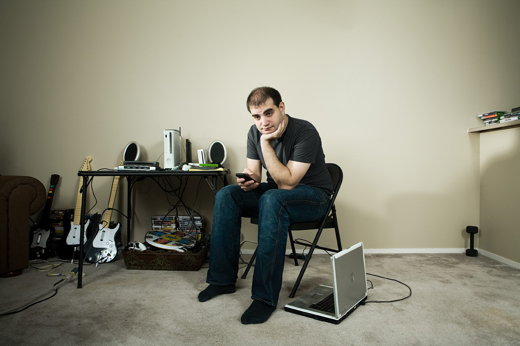 Seattle based hacker Dan Kaminsky.  Photo by John Keatley for Wired