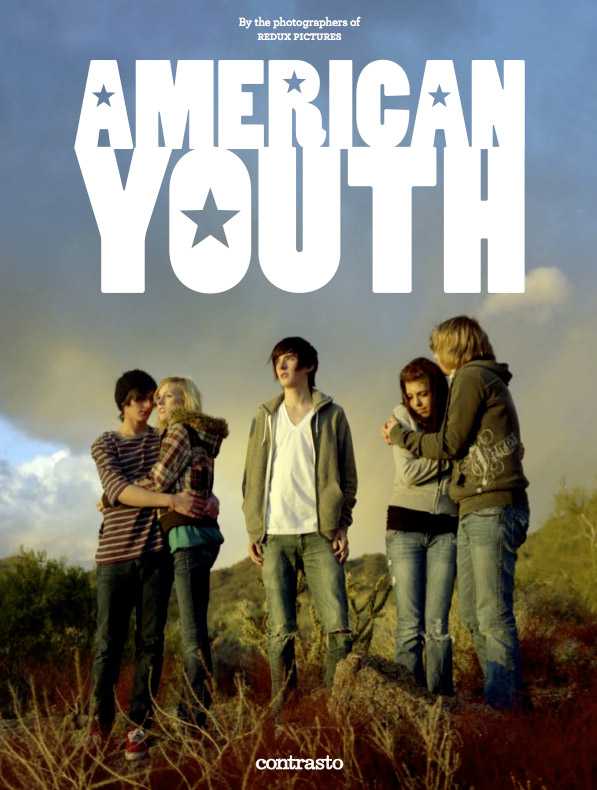American Youth photography book cover.  Photo by Erika Larsen.