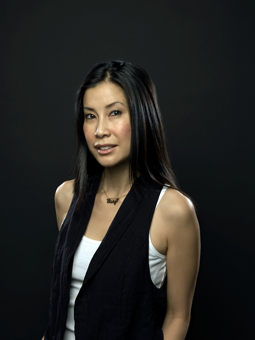 Lisa Ling portrait by John Keatley