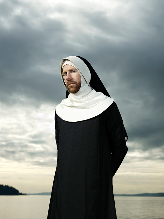 The Nun.  Photo by John Keatley.
