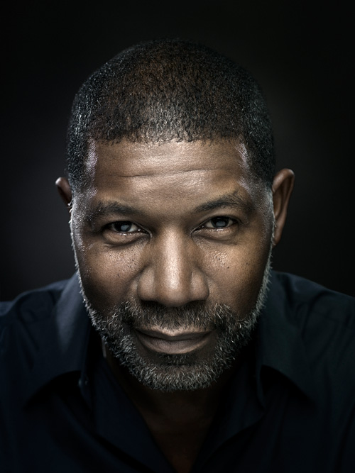 Portrait of actor Dennis Haysbert.  Photo by John Keatley.