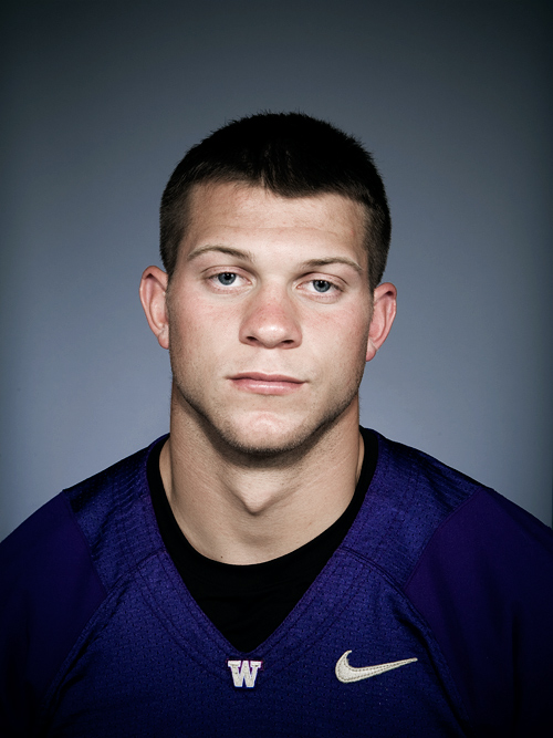 Jake Locker Portrait, photo by John Keatley