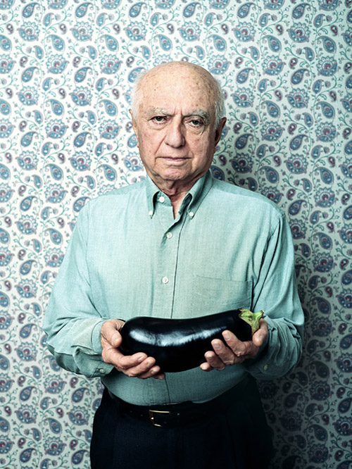 Albert And The Eggplant.  Photo by John Keatley.