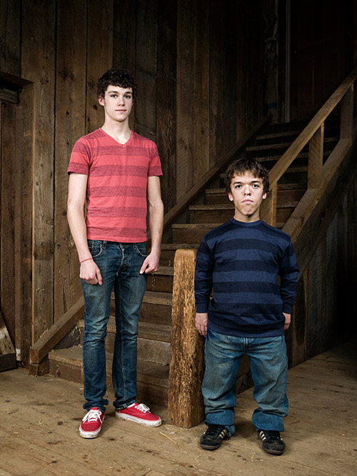 Roloff Twins.  Photo by John Keatley.