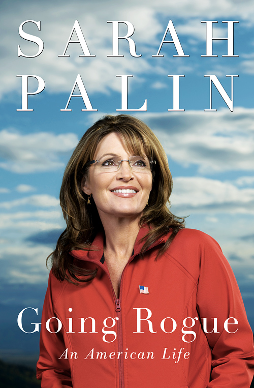 Sarah Palin picture Going Rogue book cover.  Photo by John Keatley - www.keatleyphoto.com.