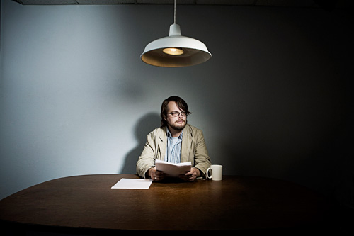 The Writer.  Photo by John Keatley.