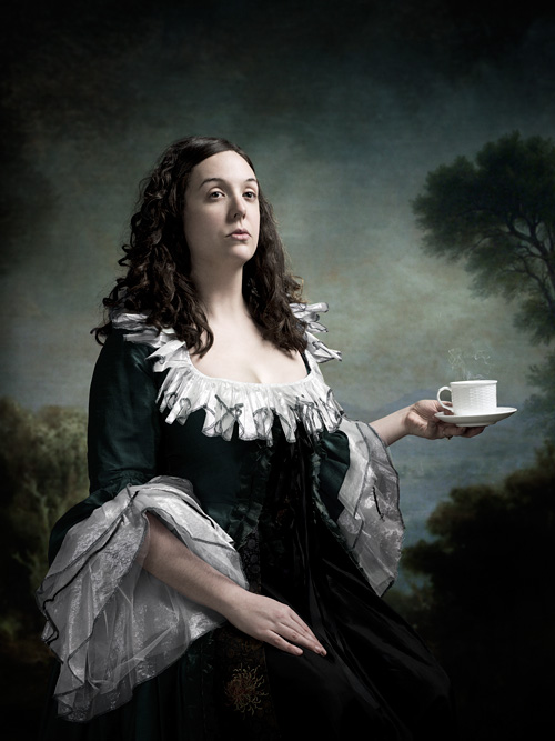 Portrait of Tea Party founder Keli Carender by photographer John Keatley.