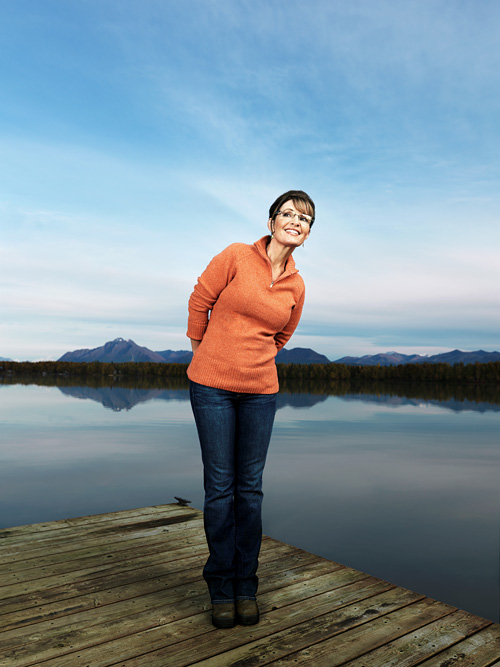 Sarah Palin by photographer John  Keatley.