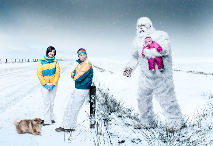 Merry Christmas From The Keatleys And A Yeti | John Keatley