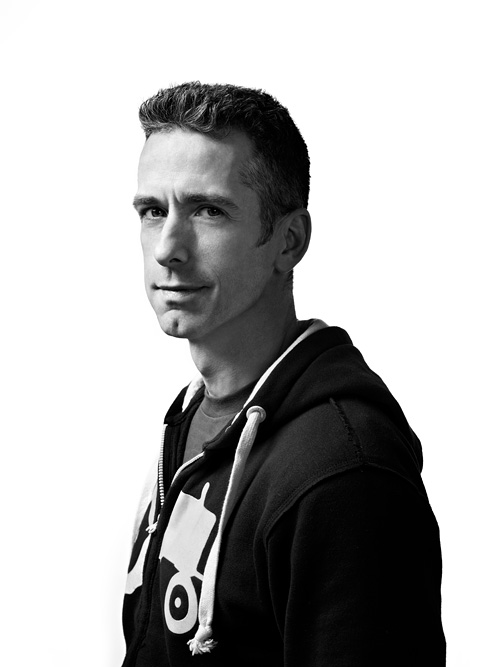 Dan Savage portrait for Time Magazine by John Keatley.