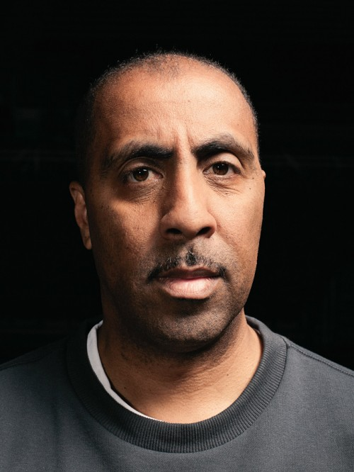 Portrait of Lorenzo Romar by photographer John Keatley.