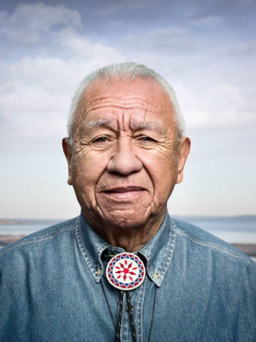 American Indian portrait by photographer John Keatley.