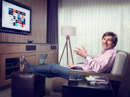 Portrait of Microsoft's Don Mattrick for Forbes by John Keatley.