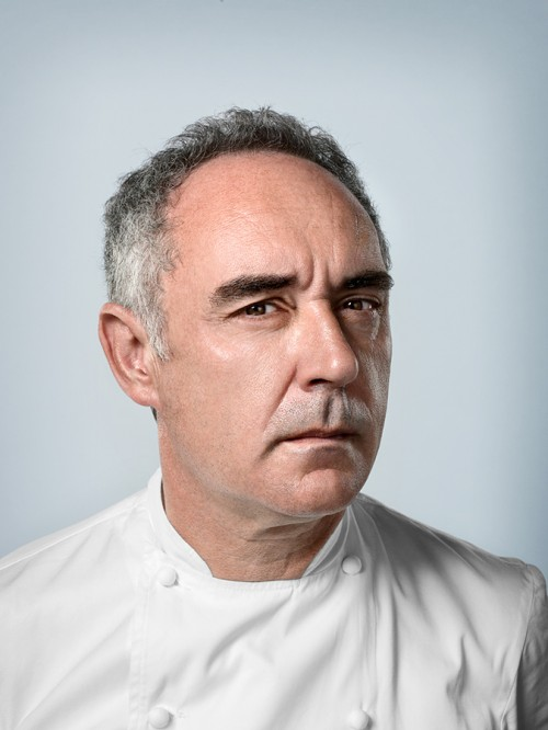 Portrait of Ferran Adria by John Keatley.
