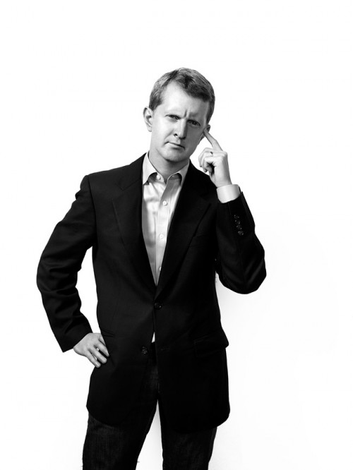 Jeopardy champion Ken Jennings for Time Magazine.  Photo by John Keatley.