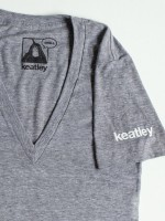 Keatley VNeck Shirt Gray
