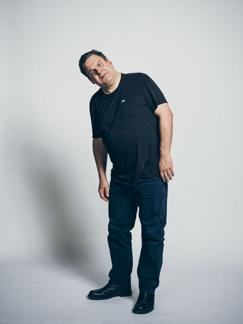Actor Jeff Garlin for NY Times Magazine.  By John Keatley.