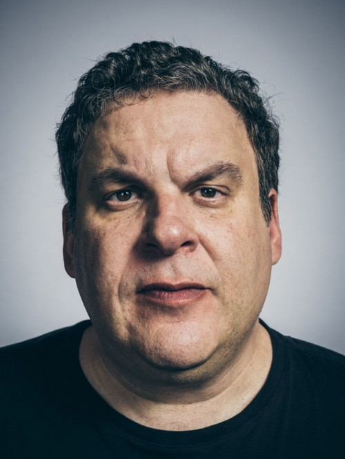 Portrait of Jeff Garlin by photographer John Keatley.