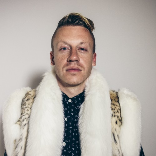 Late night sleep dep portrait of Macklemore by Keatley.