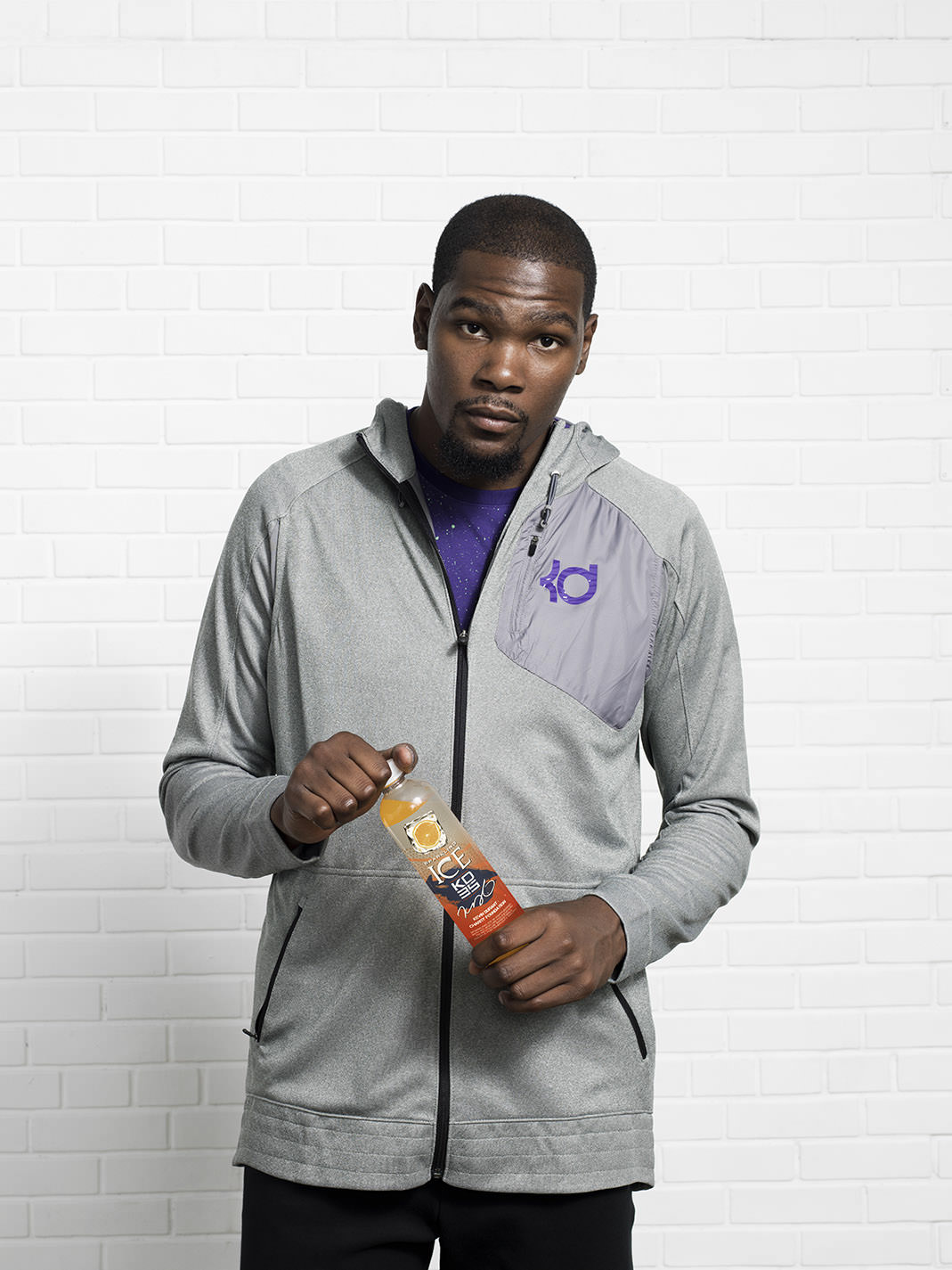 Kevin Durant for Sparkling ICE by photographer John Keatley