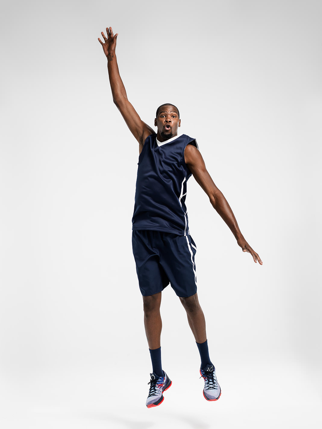 Kevin Durant by photographer John Keatley